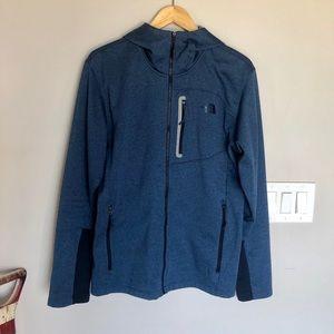 NorthFace 2 Tone Zip-Up Athletic Jacket